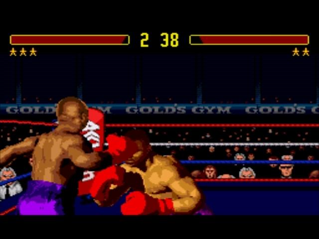 Pantallazo del juego online Foreman for Real (Genesis)