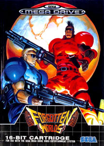 Carátula del juego Forgotten Worlds (Genesis)