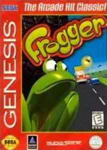 Carátula del juego Frogger (Genesis)