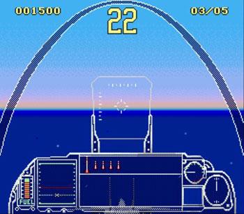 Pantallazo del juego online G-LOC - Air Battle (Genesis)