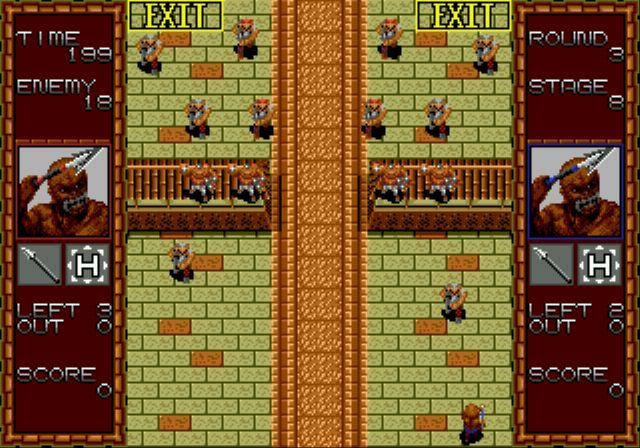 Pantallazo del juego online Gain Ground (Genesis)