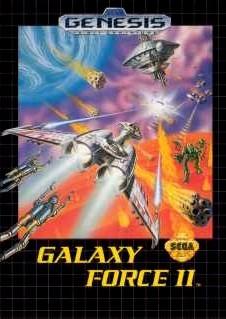 Carátula del juego Galaxy Force II (Genesis)