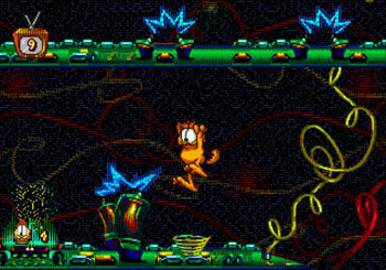 Pantallazo del juego online Garfield - Caught in the Act (Genesis)