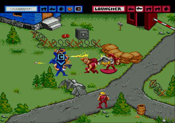 Pantallazo del juego online General Chaos (Genesis)