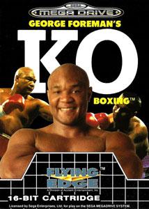 Carátula del juego George Foreman's KO Boxing (Genesis)
