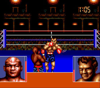 Pantallazo del juego online George Foreman's KO Boxing (Genesis)