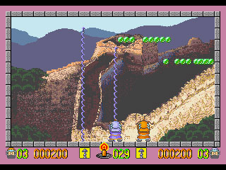 Pantallazo del juego online Ghost Hunter (Genesis)