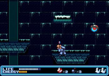 Pantallazo del juego online Ghostbusters (Genesis)