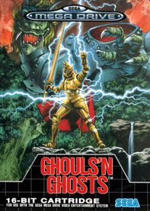 Carátula del juego Ghouls 'n Ghosts (Genesis)