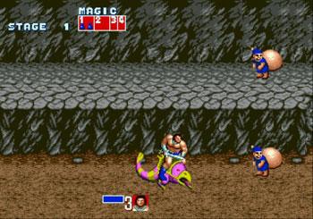 Pantallazo del juego online Golden Axe (Genesis)