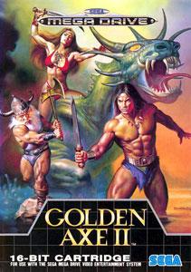 Portada de la descarga de Golden Axe II
