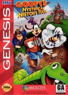 Portada de la descarga de Goofy's Hysterical History Tour