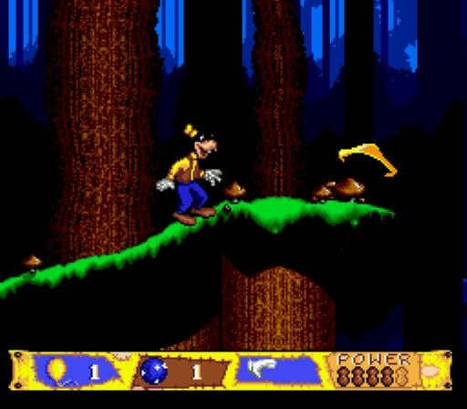 Pantallazo del juego online Goofy's Hysterical History Tour (Genesis)