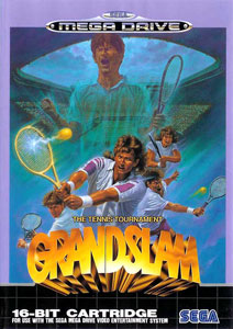 Carátula del juego Grandslam The Tennis Tournament (Genesis)