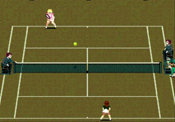 Pantallazo del juego online Grandslam The Tennis Tournament (Genesis)