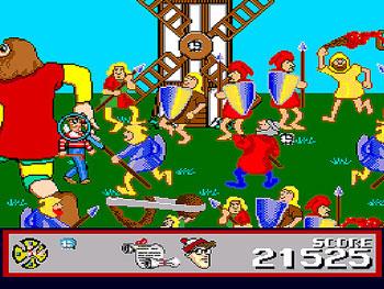 Pantallazo del juego online The Great Waldo Search (Genesis)