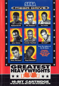 Carátula del juego Greatest Heavyweights (Genesis)