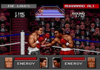 Pantallazo del juego online Greatest Heavyweights (Genesis)