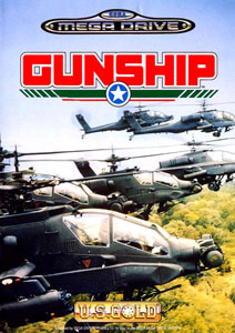 Carátula del juego Gunship (Genesis)