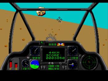 Pantallazo del juego online Gunship (Genesis)