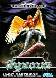 Carátula del juego Gynoug (Genesis)