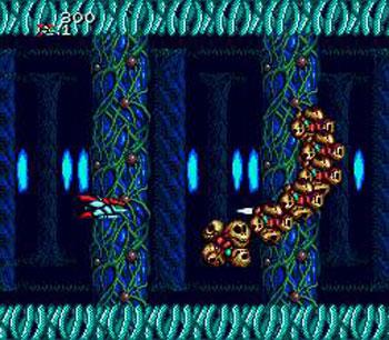 Pantallazo del juego online Heavy Unit (Genesis)