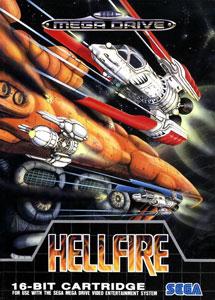 Carátula del juego Hellfire (Genesis)