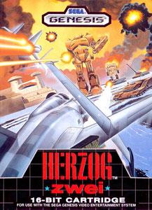 Carátula del juego Herzog Zwei (Genesis)