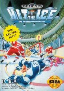 Carátula del juego Hit the Ice (Genesis)