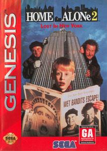Carátula del juego Home Alone 2 Lost in New York (Genesis)