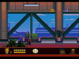 Pantallazo del juego online Home Alone 2 Lost in New York (Genesis)