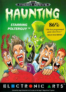 Carátula del juego Haunting Starring Polterguy (Genesis)