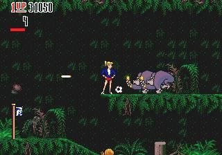 Pantallazo del juego online The Hurricanes (Genesis)