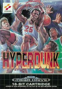 Carátula del juego Hyper Dunk The Playoff Edition (Genesis)