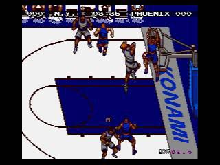 Pantallazo del juego online Hyper Dunk The Playoff Edition (Genesis)