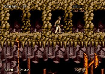 Pantallazo del juego online Indiana Jones and the Last Crusade (Genesis)