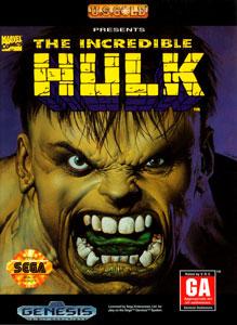 Carátula del juego The Incredible Hulk (Genesis)