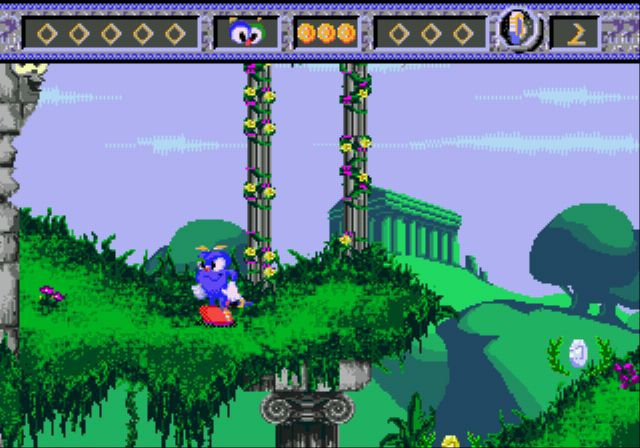 Pantallazo del juego online Izzy's Quest for the Olympic Rings (Genesis)
