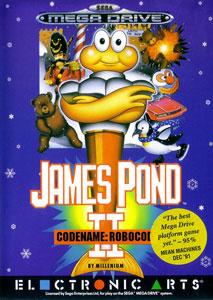 Portada de la descarga de James Pond II — Codename: RoboCod