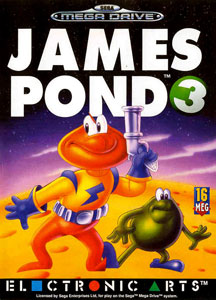 Carátula del juego James Pond 3 Operation Starfish (Genesis)