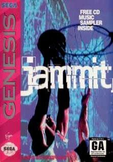 Carátula del juego Jammit (Genesis)