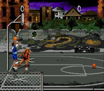Pantallazo del juego online Jammit (Genesis)