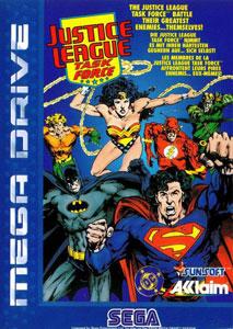 Portada de la descarga de Justice League Task Force