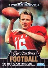 Carátula del juego Joe Montana Football (Genesis)