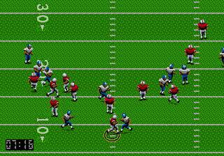 Pantallazo del juego online Joe Montana Football (Genesis)