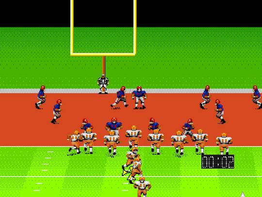 Pantallazo del juego online John Madden Football (Genesis)