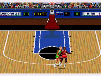 Imagen de la descarga de Jordan vs Bird: One on One