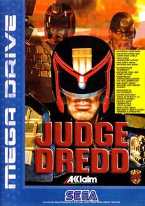 Carátula del juego Judge Dredd (Genesis)
