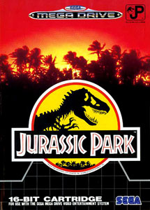 Carátula del juego Jurassic Park (Genesis)