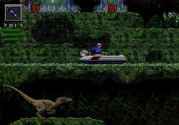 Pantallazo del juego online Jurassic Park (Genesis)